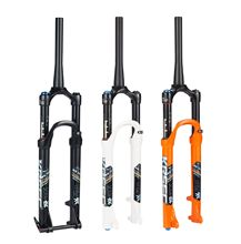 2018 HOT Sale ! New MTB High Quality 26 27.5 29 Inch 9mm 15mm Cone Black Tube Damping Air Fork Mountain Bicycle
