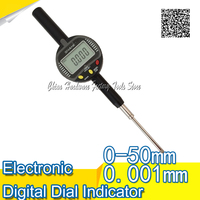 Free Shipping 0 001mm 0 50 Mm SANHE High Accuracy Electronic Digital Micron Indicator Dial Gauge