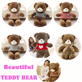 7 Style 60CM Teddy bear Kawaii Kids Bear Doll Big Soft Stuffed Toy Plush Giant Teddy Bear Children Christmas Gift