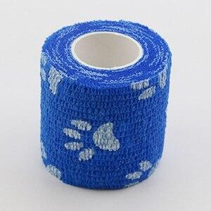 Image 5 - Açık bandaj ilk yardım kiti karikatür yapışkanlı elastik bandaj nefes alabilen bant renkli Pet bandaj