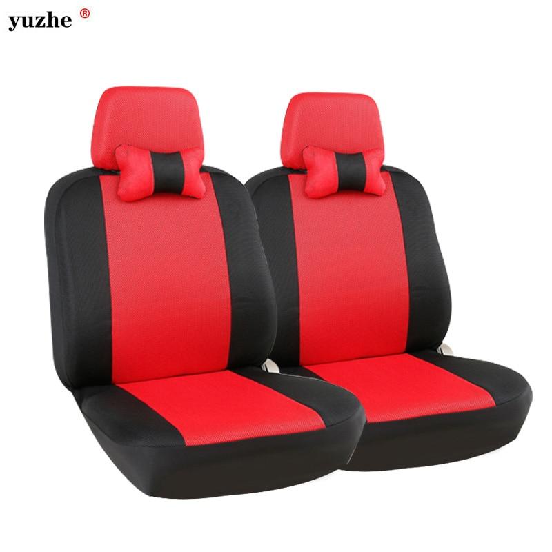 Yuzhe Universal car seat covers For Volkswagen 4 5 6 7 vw passat b5 b6 b7 polo golf mk4 tiguan jetta touareg accessories styling yuzhe leather car seat cover for volkswagen 4 5 6 7 vw passat b5 b6 b7 polo golf mk4 tiguan jetta touareg accessories styling