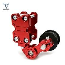 אוניברסלי אופנוע tensioner שרשרת סבבת/גלגלת/המנסרים honda cbr1000rr fireblade cbr1100xx blackbird ST1300 st1300a