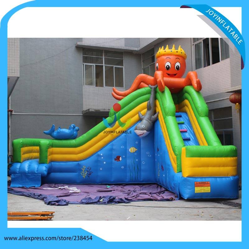 Inflatable Water Slides For Sale: Commercial Grade Octopus Inflatable Water Slide For Sale