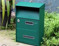 Garden Mailbox Home Decoration Outdoor Decor Mailbox for Decoration Garden or Outdoor and Door Decoration