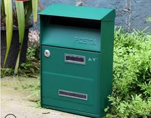 Garden Mailbox Home Decoration Outdoor Decor for or and Door