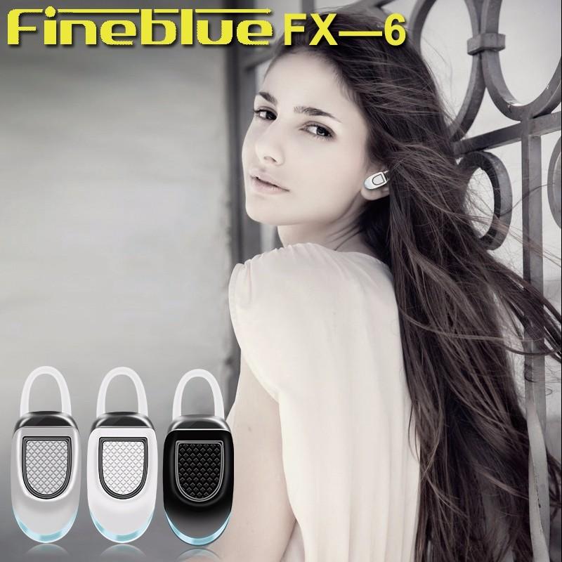 Original FineBlue FX-6 Bluetooth Earphone Ear hook Mini Wireless Earbuds Handsfree Running Sports Pocket Portable Headset  (5)