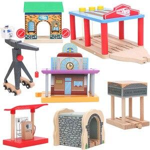 Friends Wood Train Toy Clock P