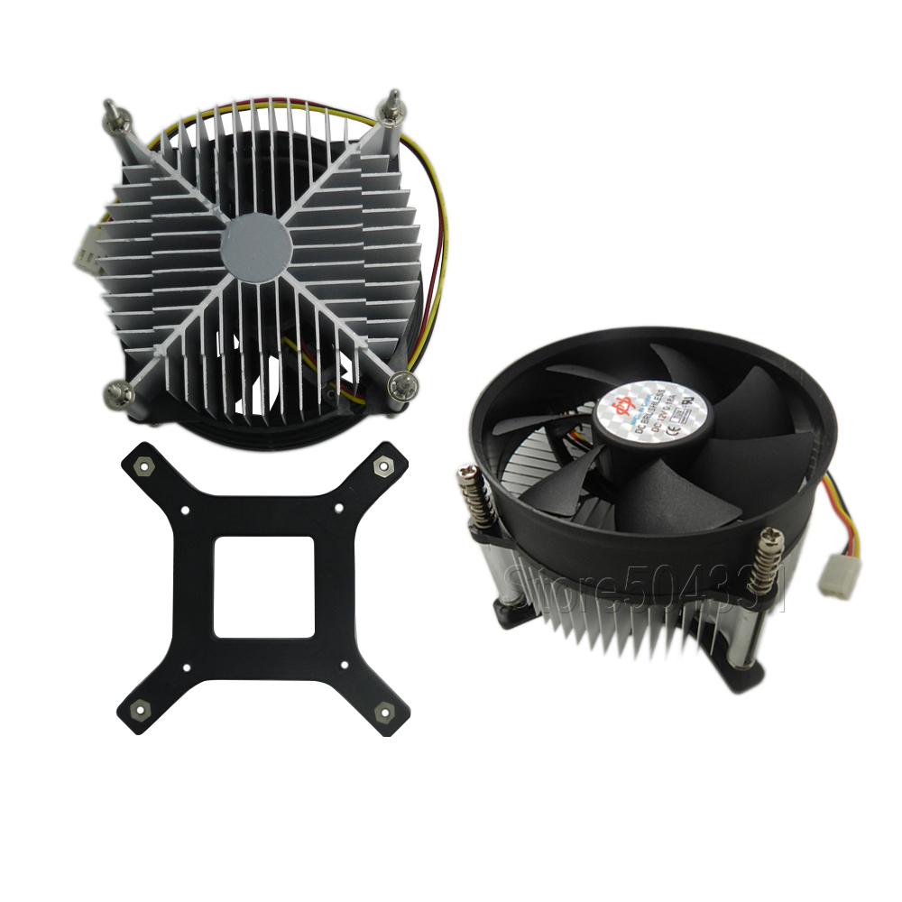50w 100w high power led heatsink dc 12v led cooling fan for Dc motor light led