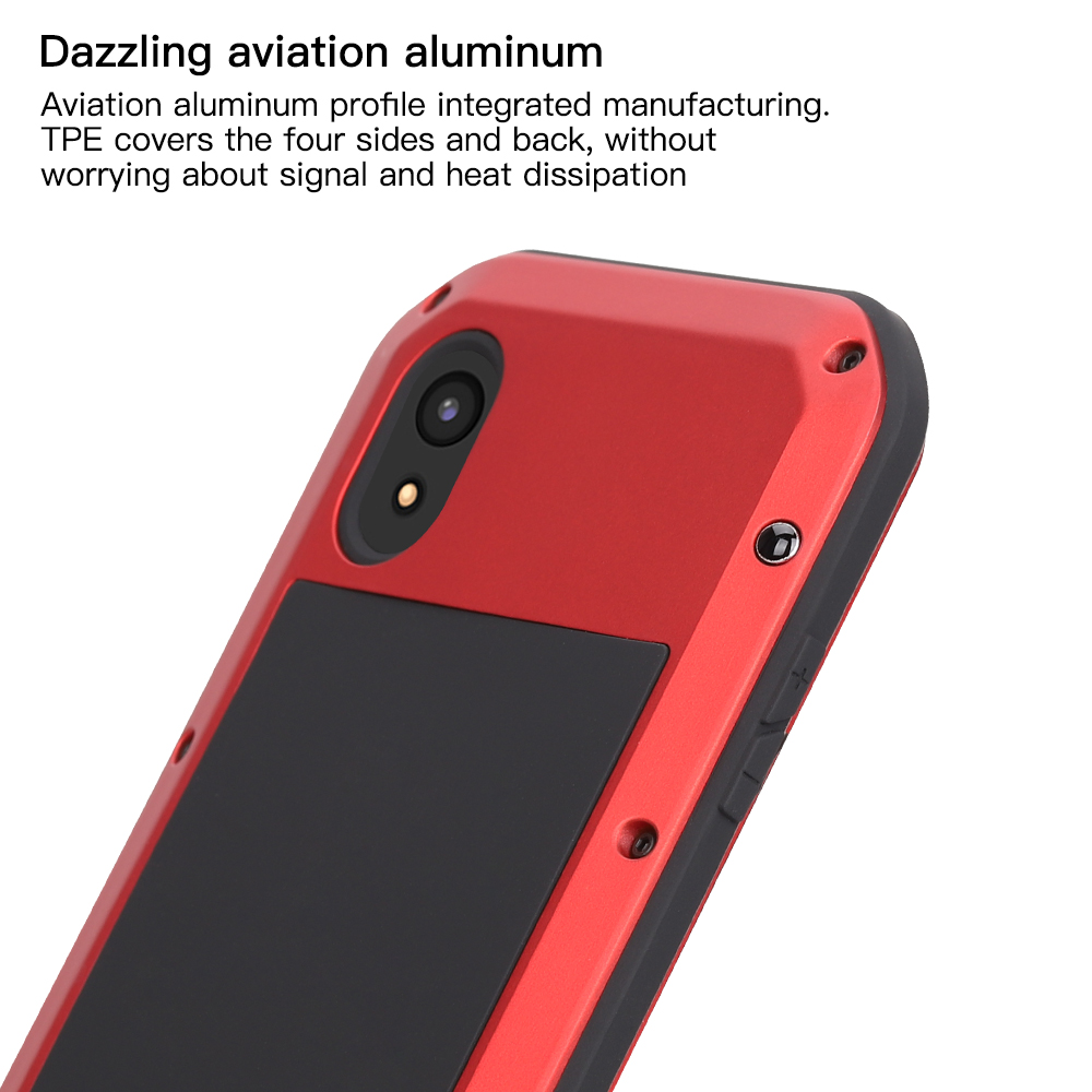 Для iphone XS Max XR X чехол для телефона сверхмощная Защитная обшивка из металлического твердого закаленного стекла iphone xs xsmax полная силиконовая крышка для телефона