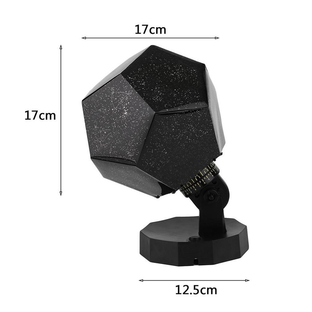Image 5 - Celestial Star Sky Projection Cosmos Night Lights Projector Night Lamp Star Romantic Bedroom Decoration Lighting AA Battery-in LED Night Lights from Lights & Lighting