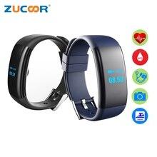 Смарт часы браслет DF30 Водонепроницаемый Приборы для измерения артериального давления кислорода Мониторы сердечного ритма Bluetooth Камера для IOS Android