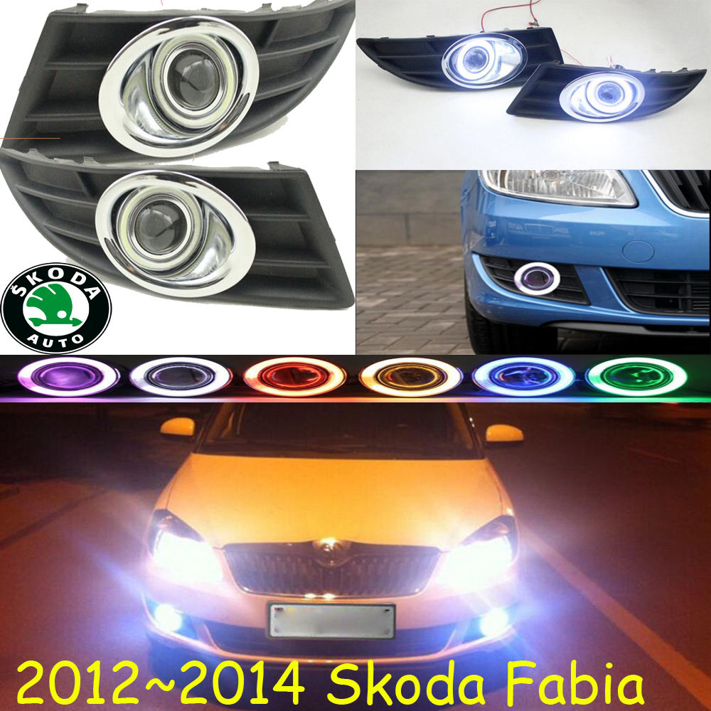 Fabia fog light 2012~2014 Free ship!Fabia daytime light,2ps/set+wire ON/OFF:Halogen/HID XENON+Ballast,Fabia sylphy fog light 2012 2015 free ship sylphy daytime light 2ps set wire on off halogen hid xenon ballast sylphy