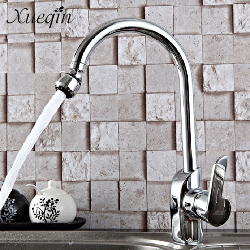 Xueqin Free Shipping Water Saving Swivel Kitchen Bathroom Faucet Tap Adapter Aerator Shower Head Filter Nozzle Connector