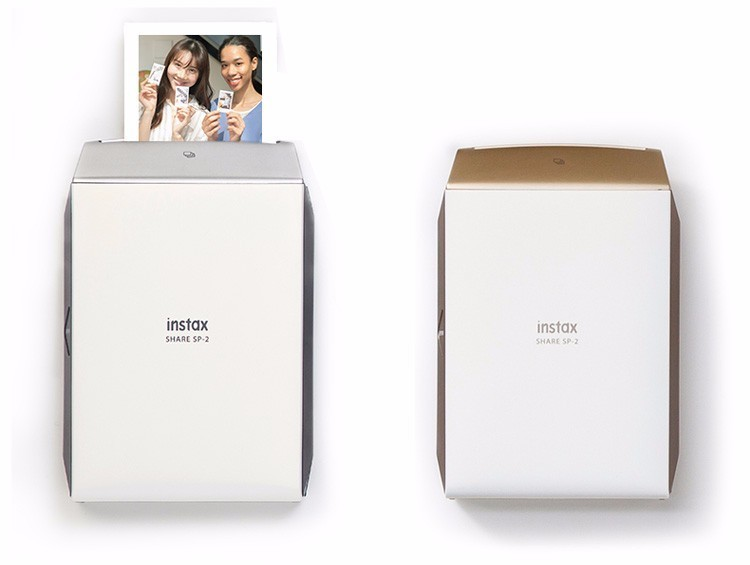 Fujifilm Instax Smartphone Printer SP-2 Silver/Gold 27