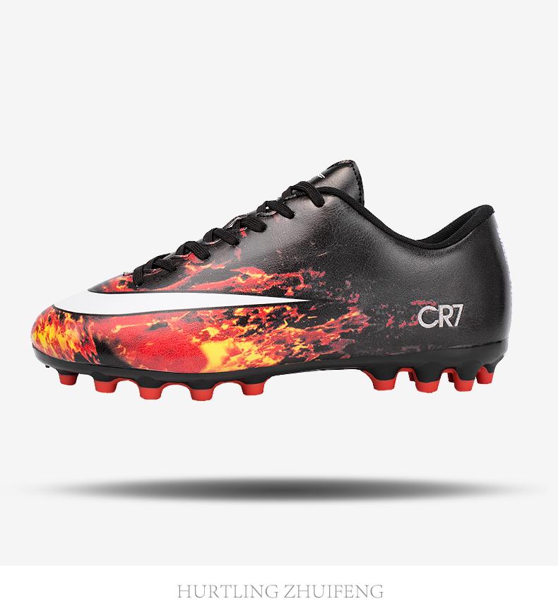0eb38ce4e1 Incêndios do Homem Turf Soccer Shoes futsal Interior Plus Size 45 ...