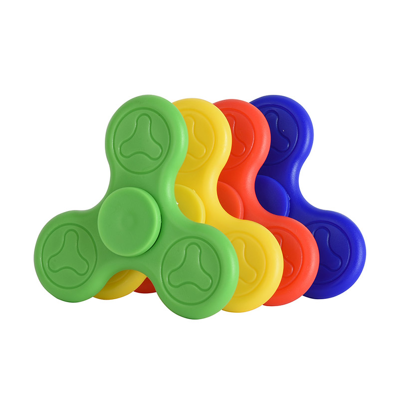 Fidget Spinner Plastic ABS Rotate Decompression Hand Spinner Promotion