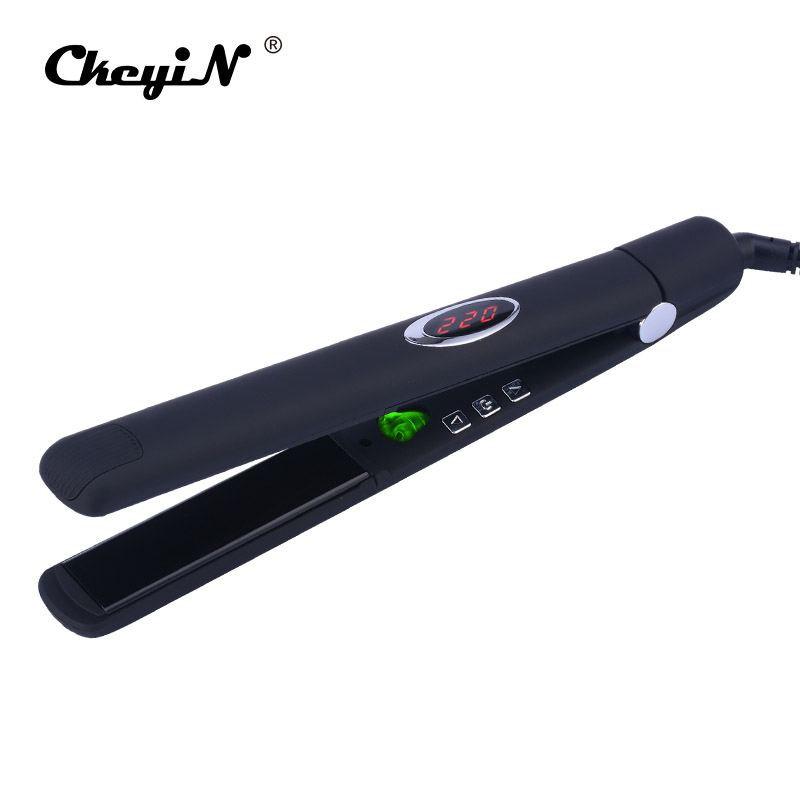 MCH Flexible 3D Floating Ceramic Wide Plates Flat Iron Far Infrared Hair Straightener Straightening Curling with Negative Ions infrared flat iron hair straightener mch fast heating dual voltage ceramic plates lcd display flat hair straightener irons