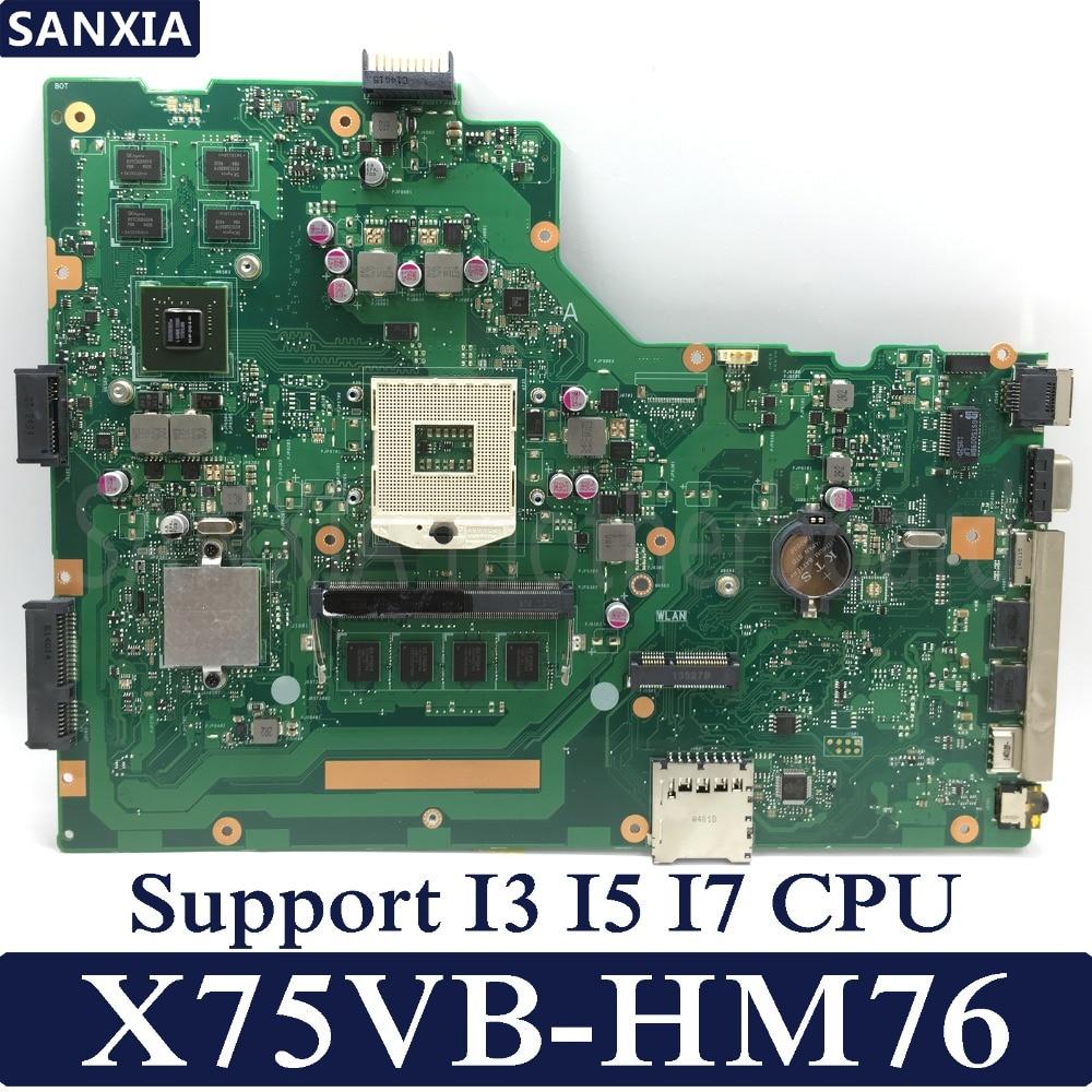 Здесь можно купить  KEFU X75VB Laptop motherboard for ASUS X75VB X75VD X75VC X75V Test original mainboard HM76 4G RAM GT720M  Компьютер & сеть
