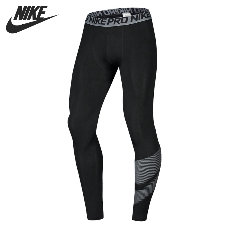 Original NIKE NP TGT GFX Men's Running Tights Sportswear nike леггинсы nike leg a see aop tgt lg