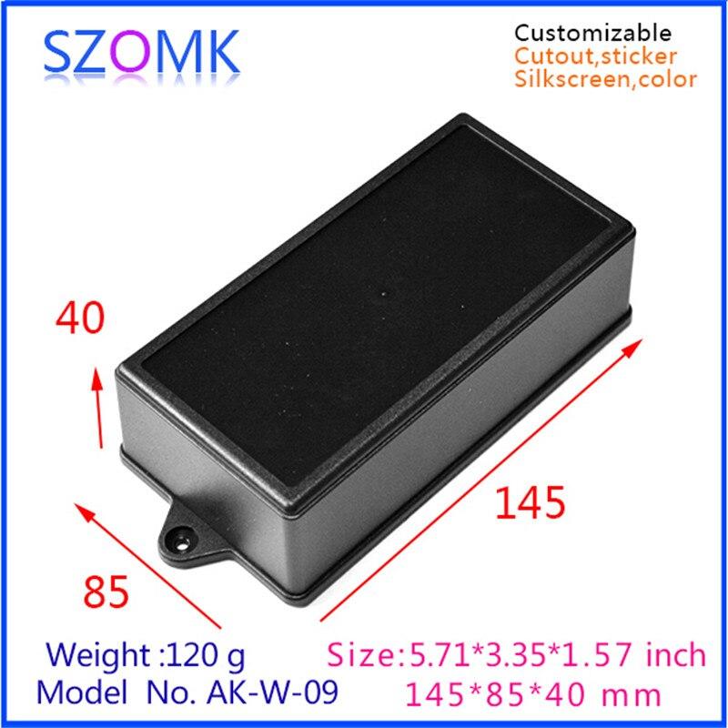 szomk plastic enclosure for electronics plastic case 10 pcs 145 85 40mm wall enclosure electrical box