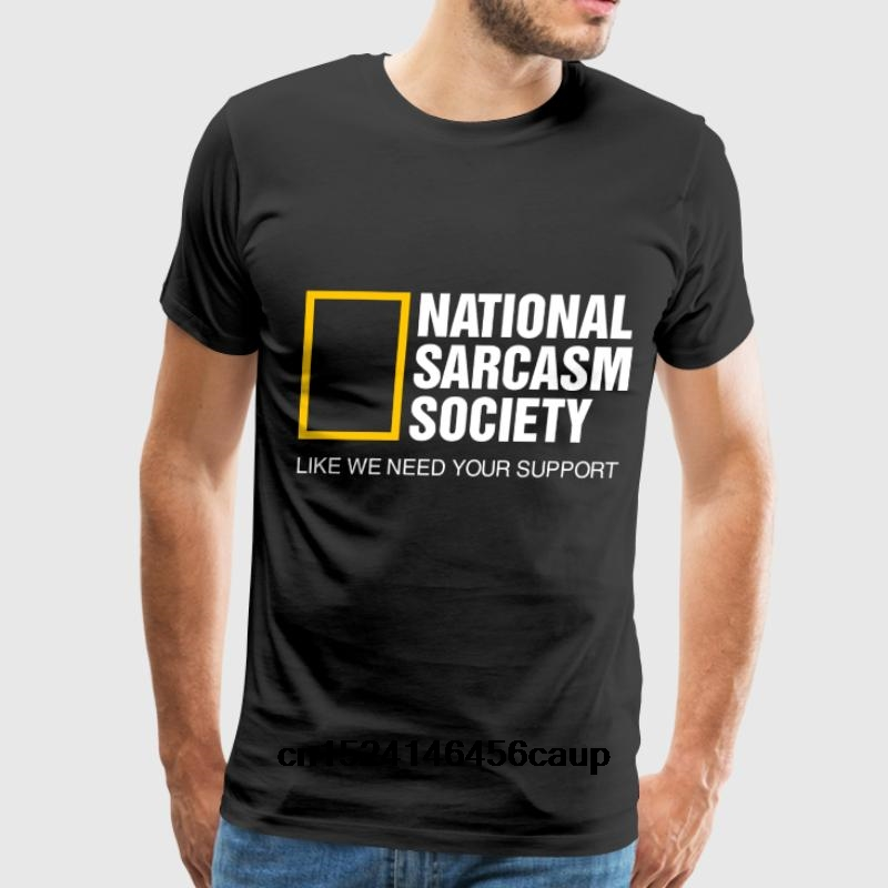 7c2b0f9fcecf 100% Cotton O neck Custom Printed Men T shirt National Sarcasm Society  Women T Shirt-in T-Shirts from Men's Clothing on Aliexpress.com   Alibaba  Group
