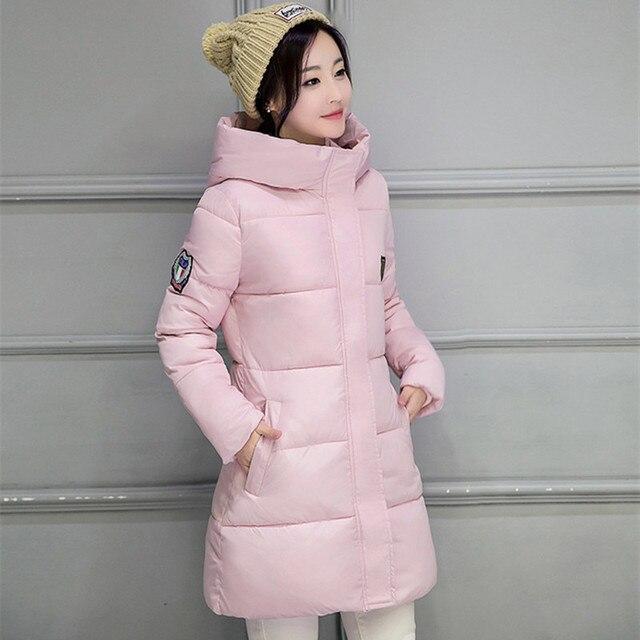 2018 New Long Parkas Female Women Winter Coat Thickening Cotton Winter Jacket Womens Outwear Parkas for Women Winter Outwear 2
