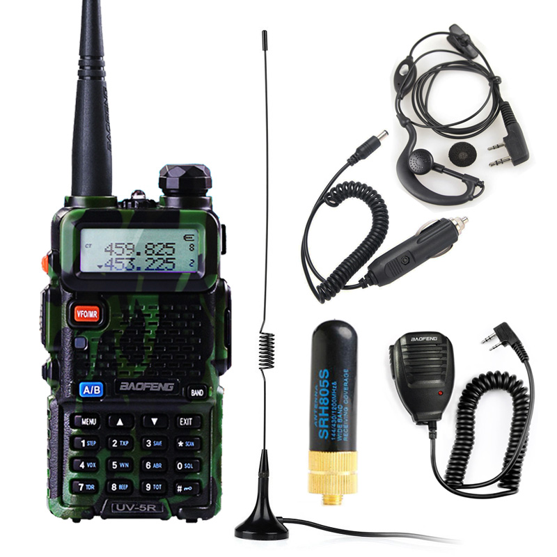 Baofeng Walkie Talkie UV-5R Radio Station 128CH VHF UHF Two-way Radio Cb Portable Baofeng Uv 5r Radio For Hunting Uv5r Baofeng