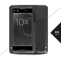For Sony Xperia XA1 5 0 LOVE MEI Original Shockproof Dirtproof Waterproof Aluminum Metal Case For