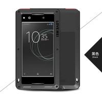 For Sony Xperia XA1 5 0 LOVE MEI Original Shockproof Dirtproof Waterproof Aluminum Metal Case For