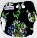Моющиеся Новорожденные ткань пеленки 1 шт. ткань пеленки+ 1 шт. вставки - Цвет: robot A