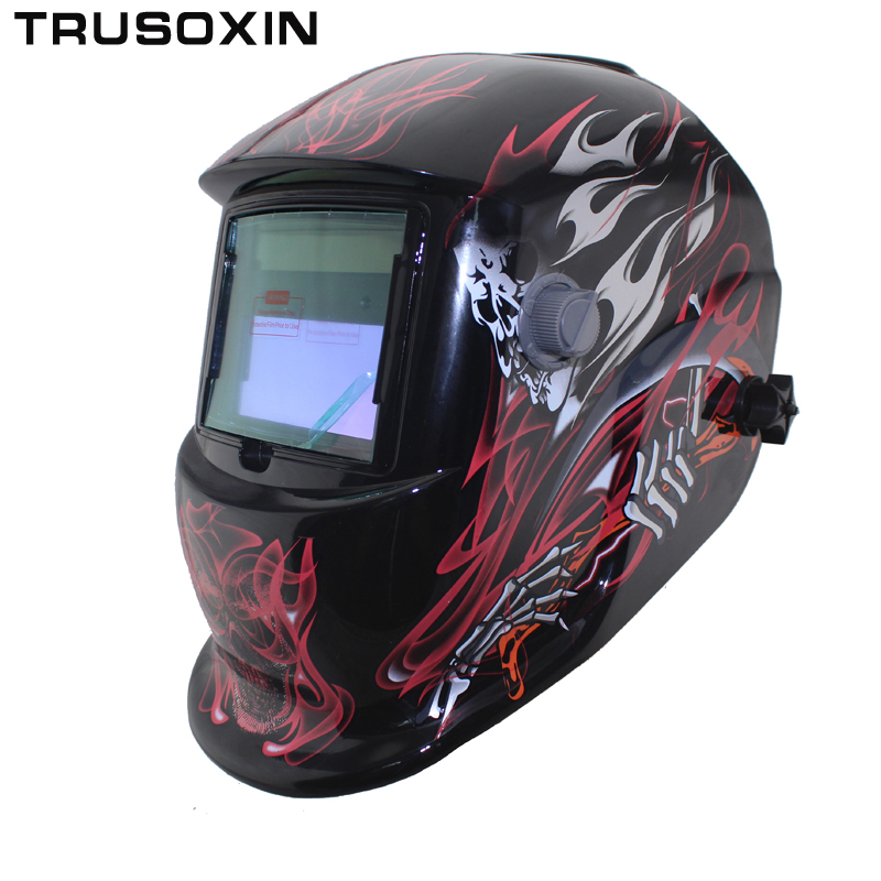 Solar Li Auto Darkening TIG MIG MMA Welding Helmets/Welder Goggles/Mask Eyes Glasses/Goggles for Welding Machine/Accessories din7 din12 shading area solar auto darkening welding helmet protection face mask welder cap for zx7 tig mig welding machine