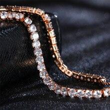 Adjustable Cubic Zirconia Bangle Tennis Bracelet
