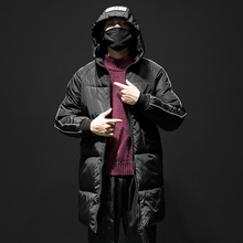 2019 New Fashion Long Parka Men Winter Jacket Hooded Warm Thicken Cotton-Padded Mens Male Coats Plus Size 5XL