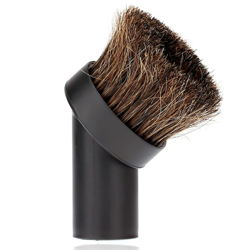 32mm Vacuum Cleaner Brush Head Home Use Mixed Horse Hair Oval Cleaning Brush Head Vacuum Cleaner Accessories Tool