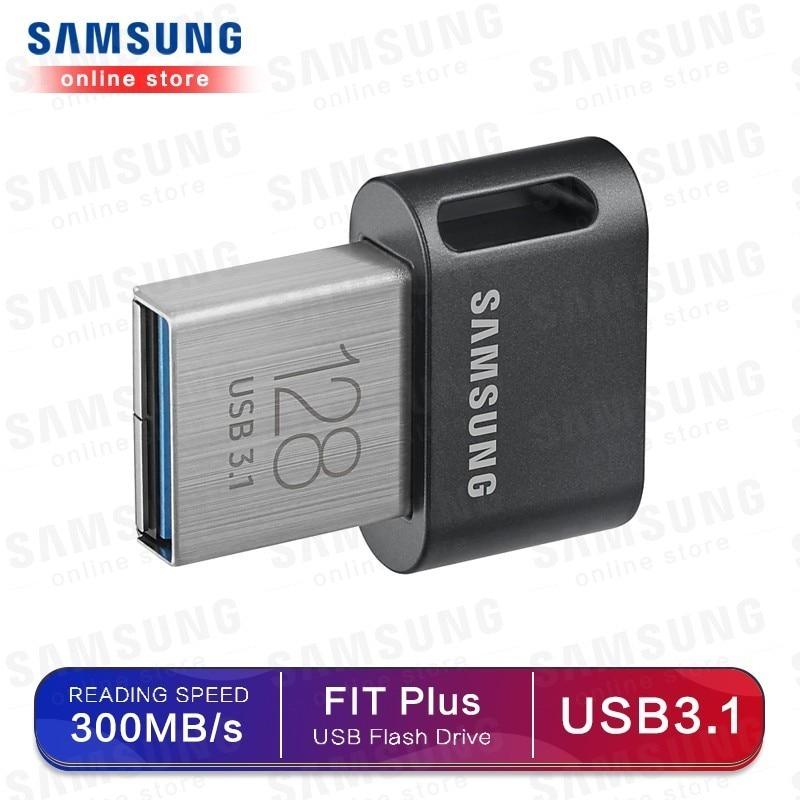 Original Samsung USB 3.1 Pendrive 32GB 64GB 200MB/S Memoria Usb 3.0 Flash Drive 128GB 256GB 300MB/S Mini U Disk Memory Stick