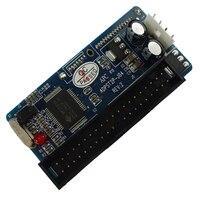 New 7 15p 22pin SATA Female To IDE PATA 40Pin Male Chipset Jmicron JM20330 Adapter SATA