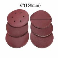 60Pcs 6 Inch Self Adhesive Sanding Disc 60 80 120 240 320 Mixed Grit Sanding Disc