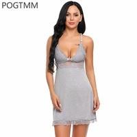 Sexy Transparent Lace Lingerie Erotic Hot Nightwear Sleepwear Women Sex Costume Mini Babydoll Dress Chemise Porn