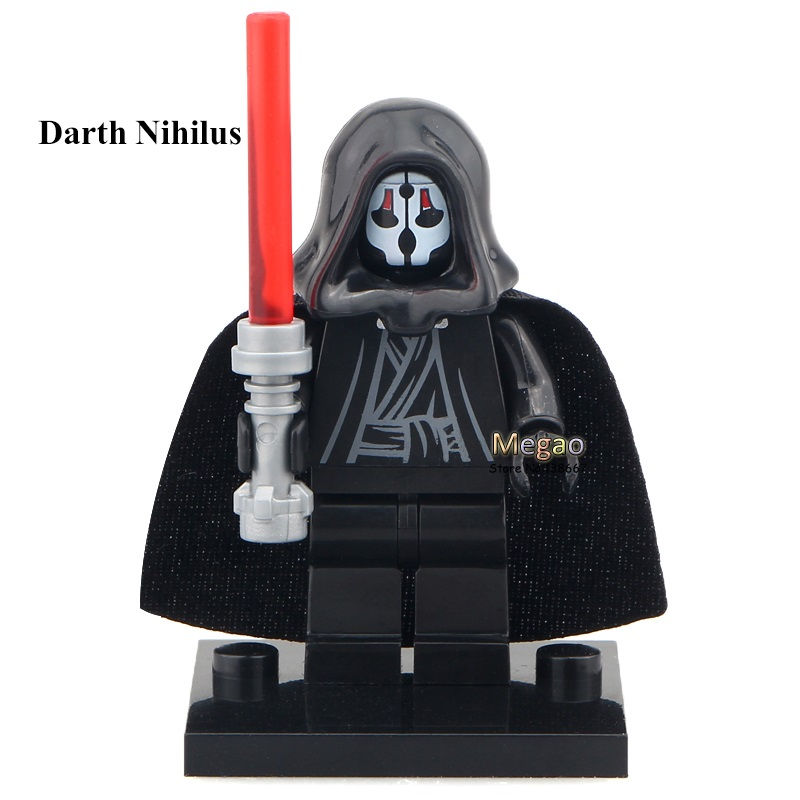 Reasonable 50pcs/lot Darth Nihilus With Red Lightsaber Xinh 207 Building Block Best Children Toy X0105 Promote The Production Of Body Fluid And Saliva Toys & Hobbies