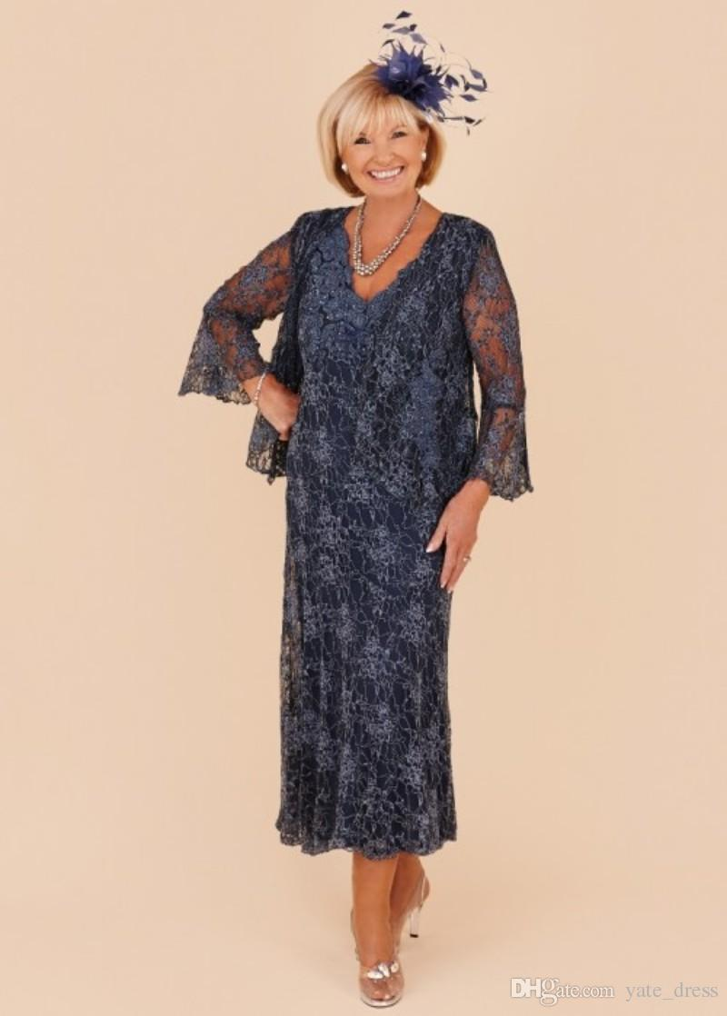 Plus Size Mother Of The Groom Dresses With Jackets ...