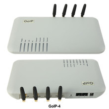 GoIP 4 포트 gsm voip 게이트웨이/Voip sip 게이트웨이/GoIP4 ip gsm 게이트웨이 지원 SIP/H.323/IMEI 변경(China)
