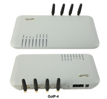 GoIP 4 poorten gsm voip gateway/sip Voip gateway/GoIP4 ip gsm gateway ondersteuning SIP/H.323/ IMEI verwisselbare