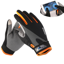 Gloves Cycling Full Finger Knitting Breathable Bicycle Gloves Men Touch Screen Non Slip Fishing Gloves Bike Motorcycle Sport Gym цены онлайн