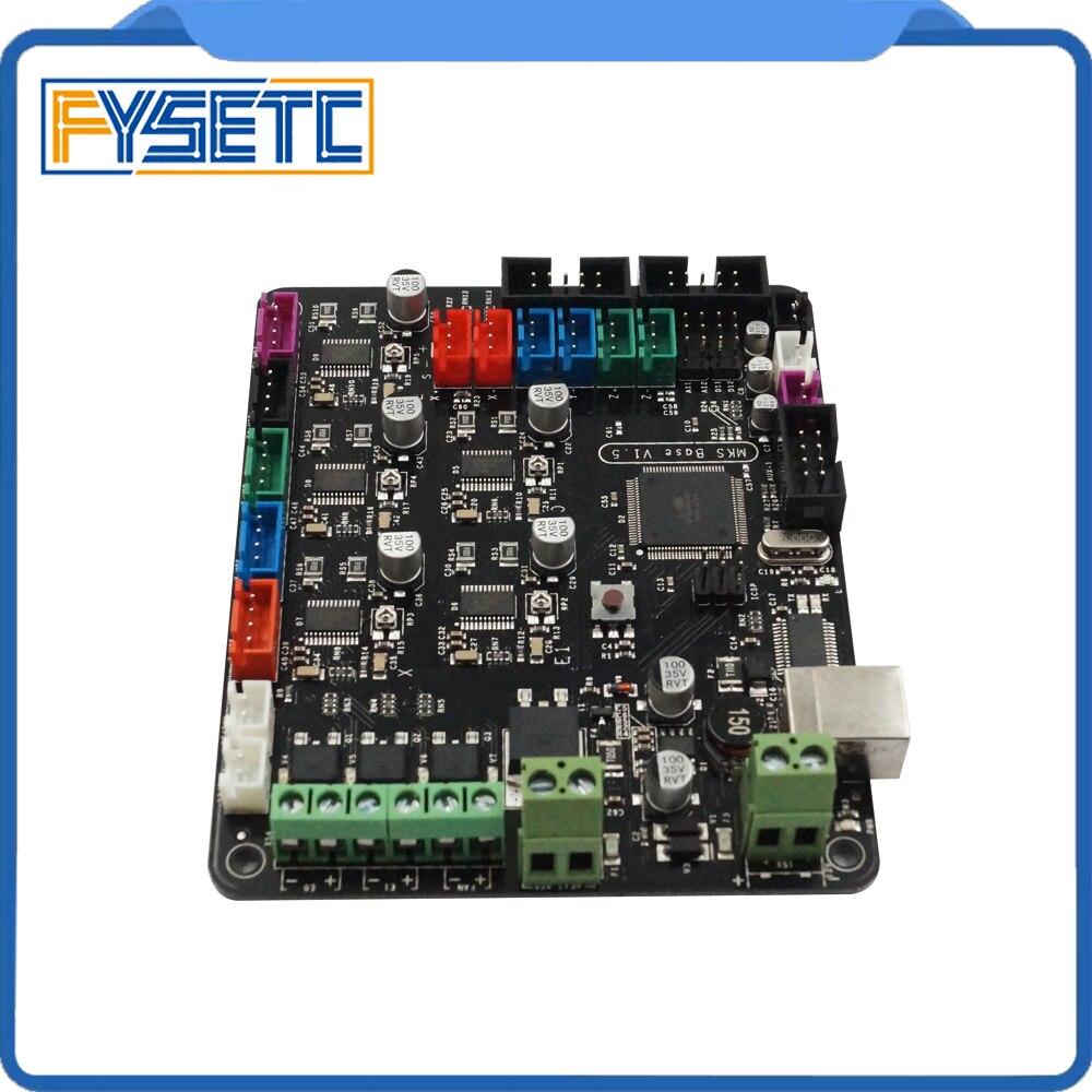 3D components integrated motherboard MKS BASE V1.5 compatible Mega 2560&RAMPS1.4 combo control board RepRap Mendel Prusa i3 цена