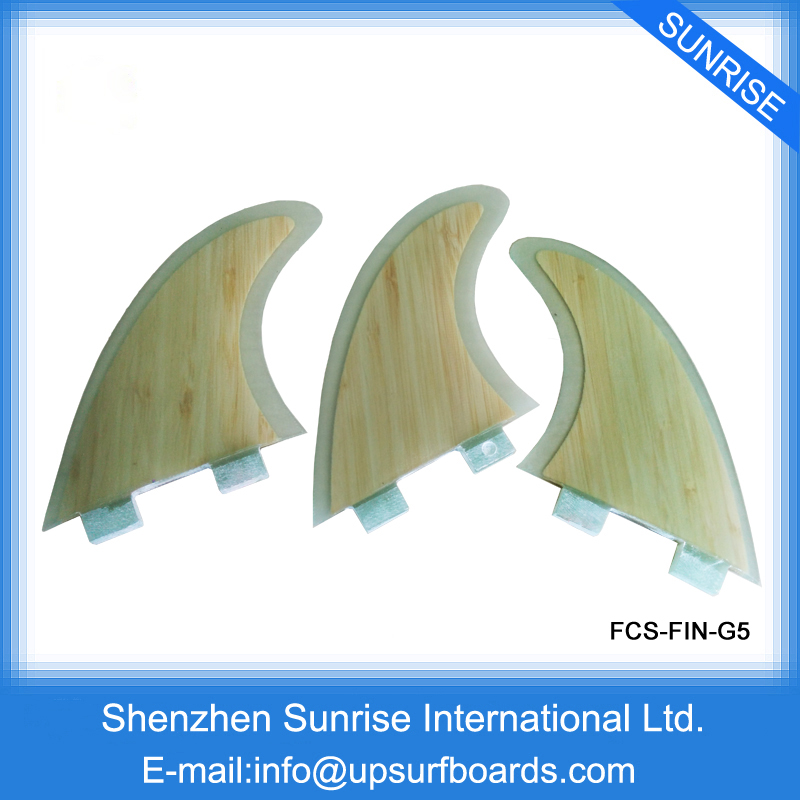 цена на Surf Fins FCS/Future G5 in Surfing Bamboo Surf Board Fins Fins thruster