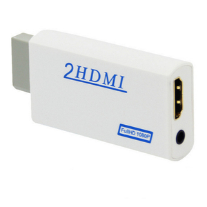 Image 2 - 10pcs a lot New For Wii to for HDMI Adapter Converter Support 720P1080P  3.5mm Audio For HDTV