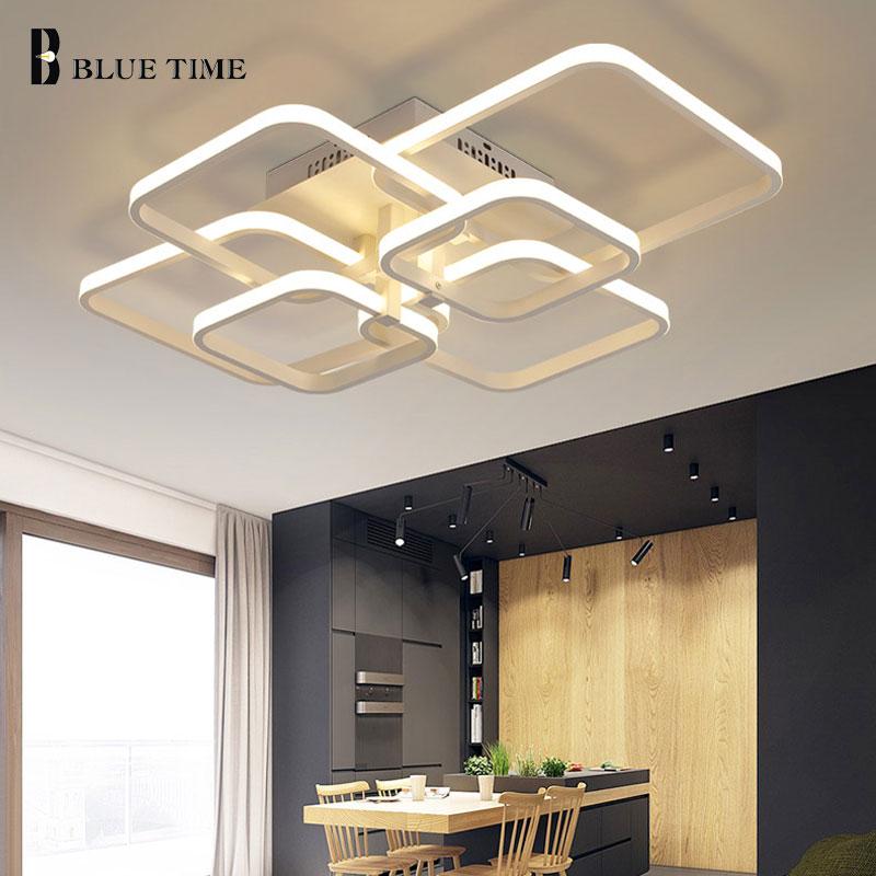 Anillos Moderno Led Araña Para la Sala Comedor Dormitorio Lustres - Iluminación interior - foto 3