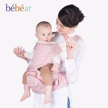 Bebear new hipseat for prevent o-type legs aviation aluminum core Ergonomic baby carriers manduca backpack save effort kid sling