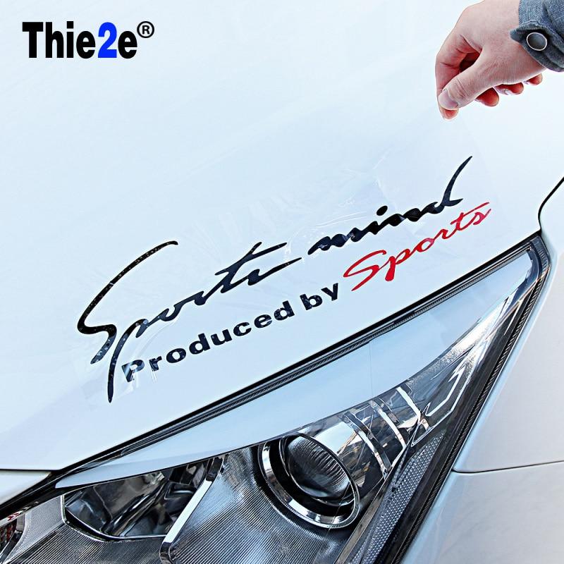 Auto Lamp Wenkbrauw Sport Sticker Voor Peugeot 307 206 308 407 207 2008 3008 508 406 208 Voor Citroen C4 C5 C3 C2 Accessoires