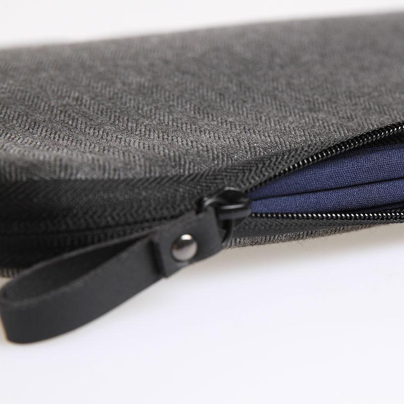 Futerały na walizki WIWU do Macbook 13 Skórzane etui na notebook - Akcesoria do laptopów - Zdjęcie 5